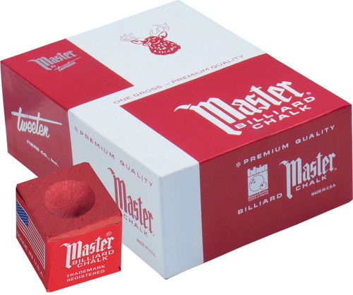Master Chalk - Box of 144 - Red