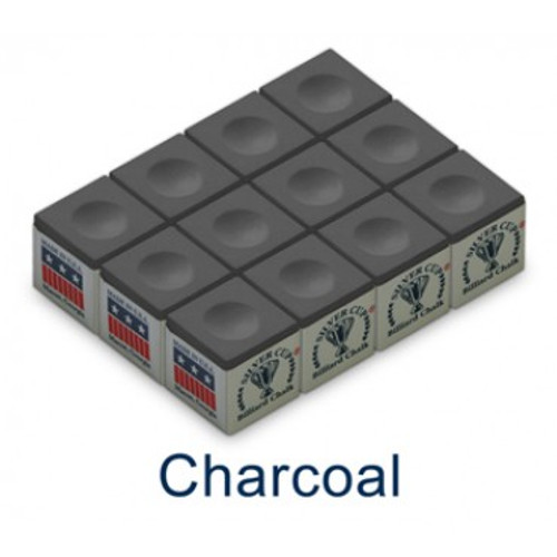 Silver Cup Chalk - Box of 12 - Charcoal