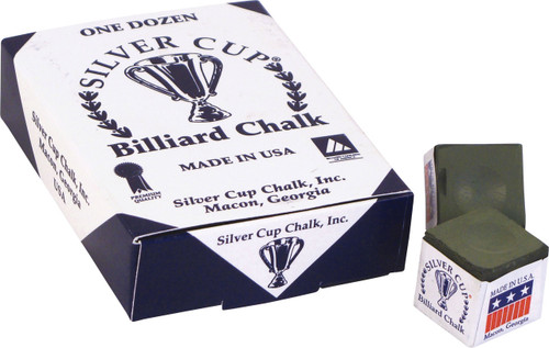 Silver Cup Chalk - Box of 12 - Olive