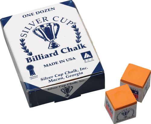 Silver Cup Chalk - Box of 12 - Orange