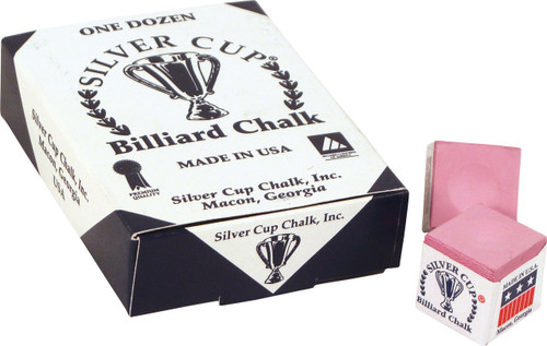 Silver Cup Chalk - Box of 12 - Pink