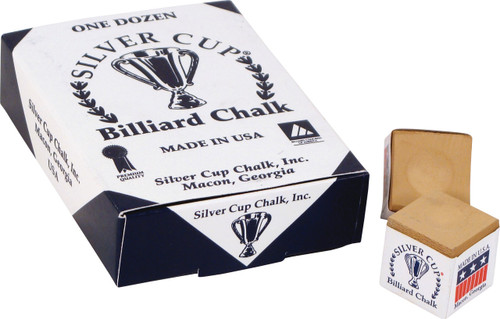 Silver Cup Chalk - Box of 12 - Tan