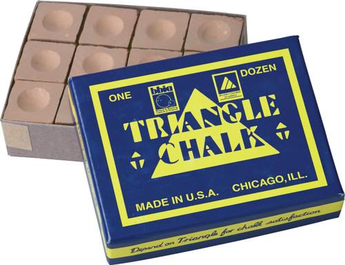 Triangle Chalk - Box of 12 - Gold