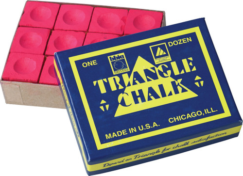 Triangle Chalk - Box of 12 - Red