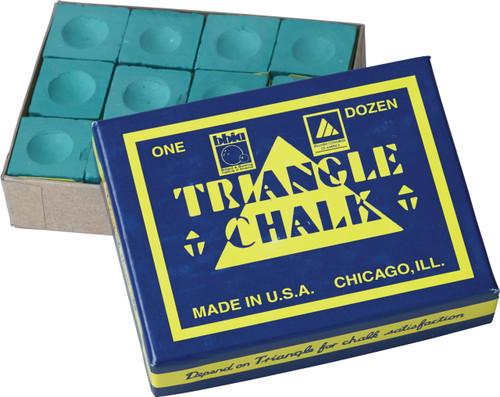 Triangle Chalk - Box of 12 - Spruce