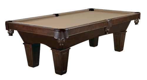 Brunswick Tremont Pool Table Espresso Finish Tapered Leg