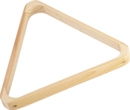 8 Ball Wood Triangle
