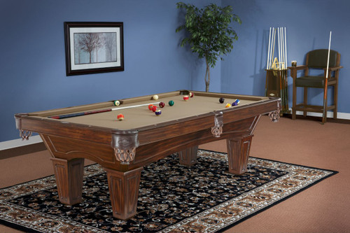 Brunswick Allenton Pool Table Tuscana Finish