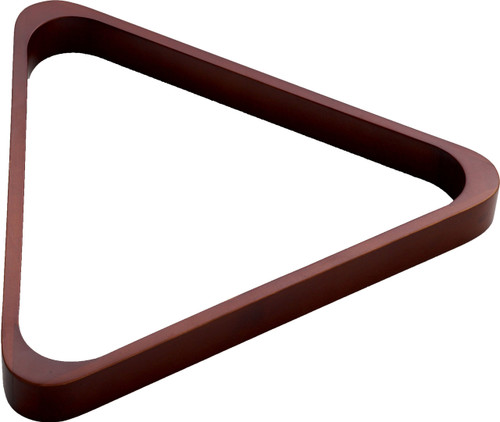 8 Ball Wood Triangle Chocolate