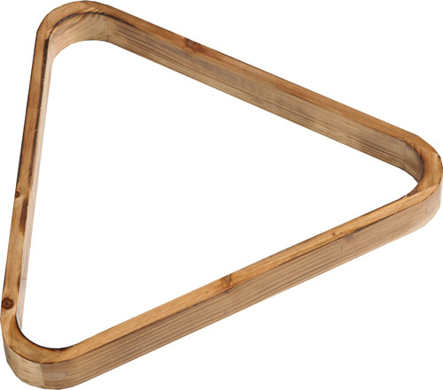8 Ball Wood Triangle Rustic