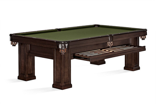 Brunswick Oakland II Pool Table Espresso
