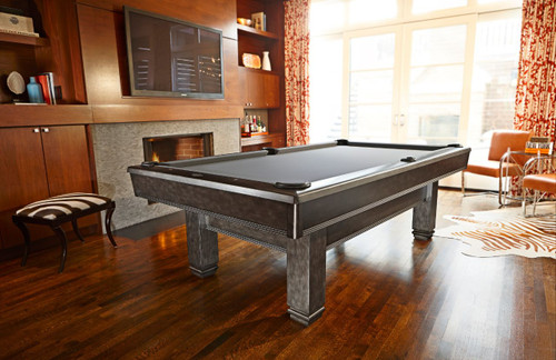 Brunswick Bridgeport Pool Table Graphite