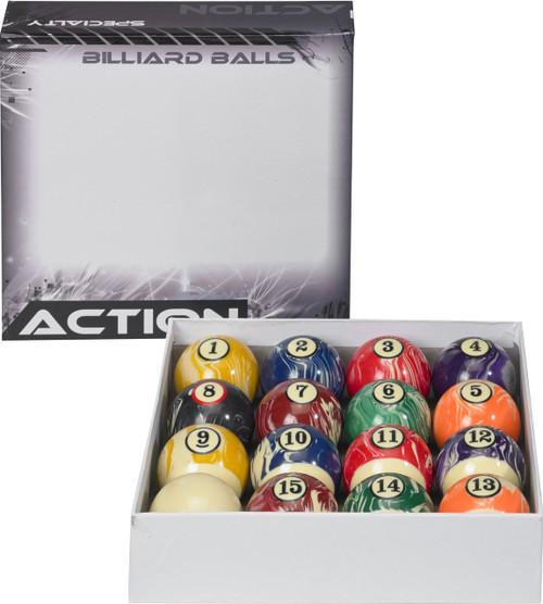 Action White Marble Ball Set