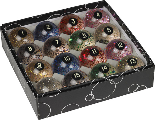 Action Glitter Ball Set
