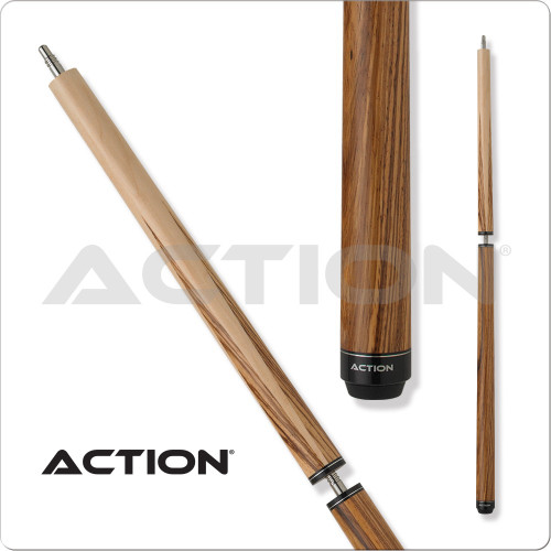 Action ACTBJZ Zebrawood Break Jump Pool Cue