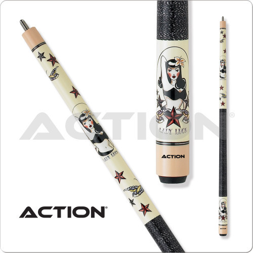 Action Adventure ADV81 Lady Luck Pool Cue
