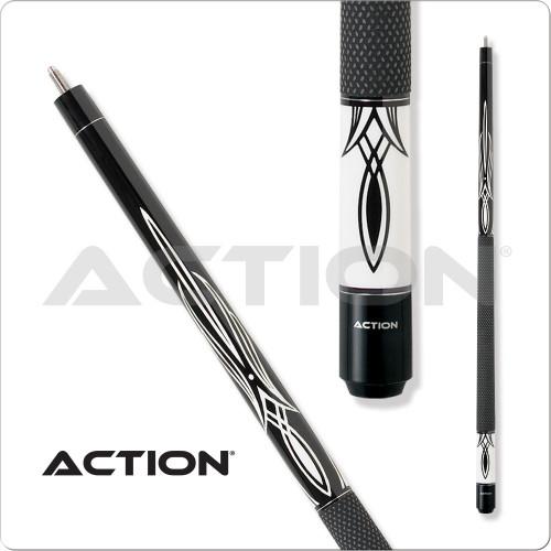 Action Black & White BW01 Pool Cue