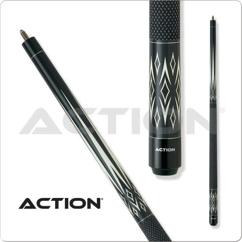 Action Black & White BW15 Pool Cue