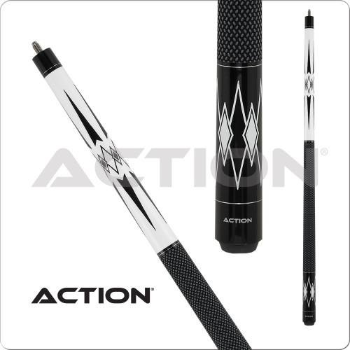 Action Black & White BW22 Pool Cue