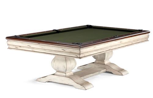 Brunswick Mackenzie Pool Table Aged Linen