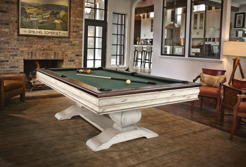 Brunswick Mackenzie Pool Table Aged Linen