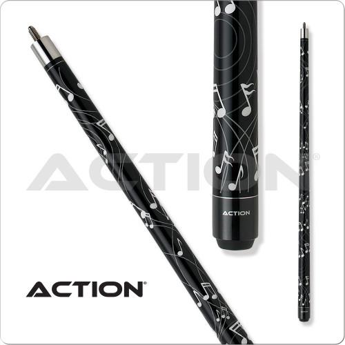 Action IMP17 Impact Music Note Pool Cue