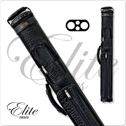 Elite ECCP22 2x2 Precision Black Hard Cue Case