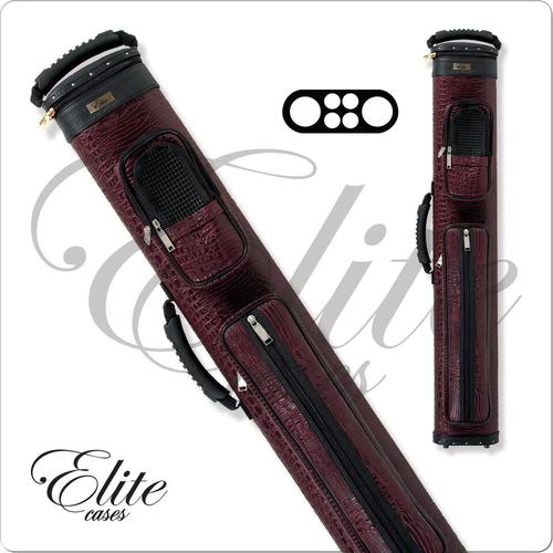 Elite ECCP24 2x4 Precision Burgundy Hard Cue Case
