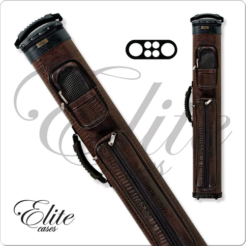 Elite ECCP24 2x4 Precision Brown Hard Cue Case