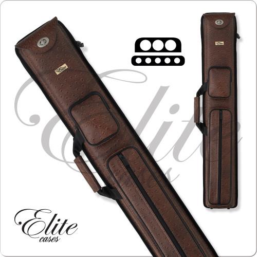 Elite ECN35 Nexus 3x5 Brown Hard Cue Case