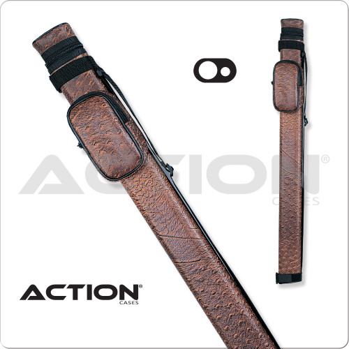 Action AC11 1x1 Brown Hard Cue Case
