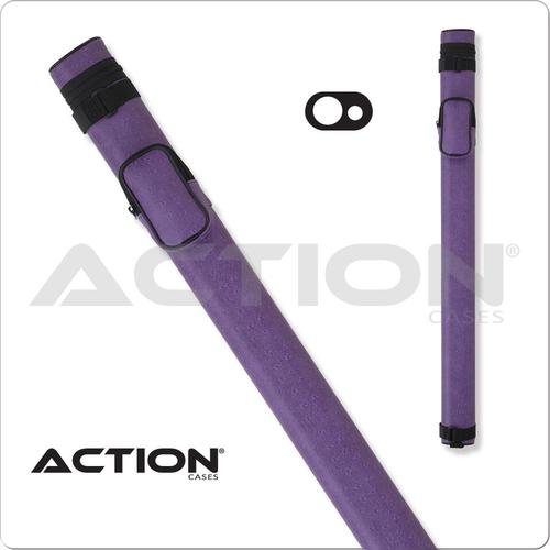 Action AC11 1x1 Purple Hard Cue Case