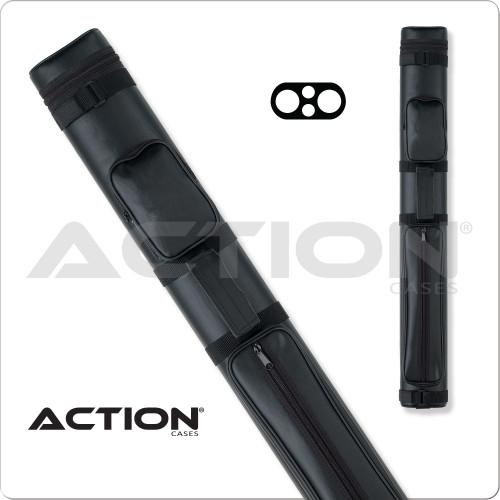 Action AC22 2x2 Black Hard Cue Case