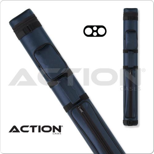 Action AC22 2x2 Blue Hard Cue Case