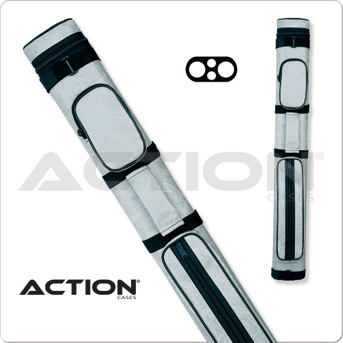 Action AC22 2x2 Light Gray Hard Cue Case