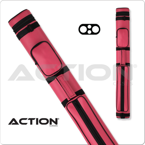 Action AC22 2x2 Pink Hard Cue Case