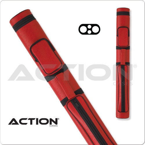 Action AC22 2x2 Red Hard Cue Case