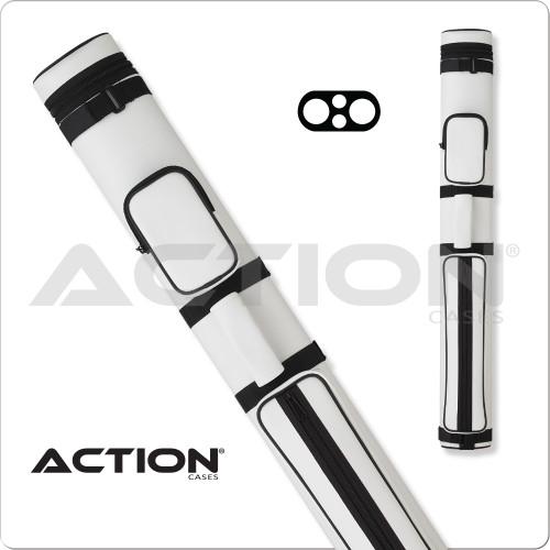 Action AC22 2x2 White Hard Cue Case