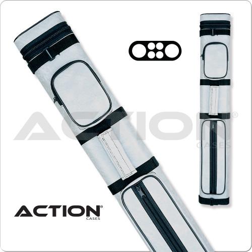 Action AC24 2x4 Light Gray Hard Cue Case