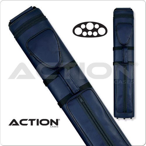 Action AC35 3x5 Blue Hard Cue Case