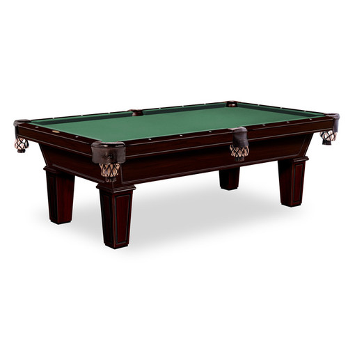 Gebhardts Montgomery Pool Table Original Cherry Bridgeport Legs