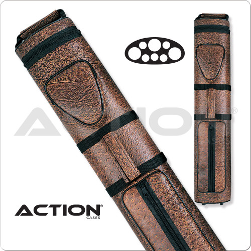 Action AC35 3x5 Brown Hard Cue Case