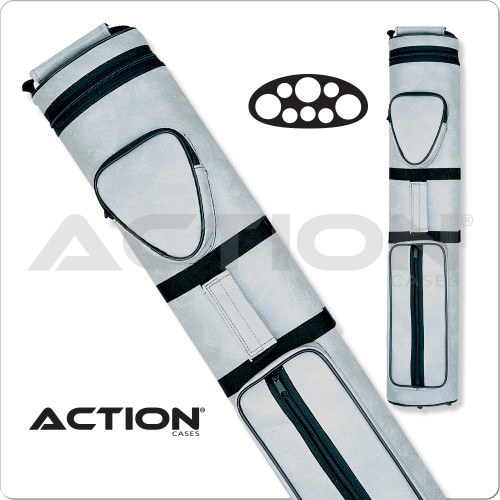 Action AC35 3x5 Light Gray Hard Cue Case