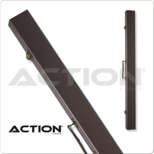 Action ACBX22 1x1 Brown Box Cue Case