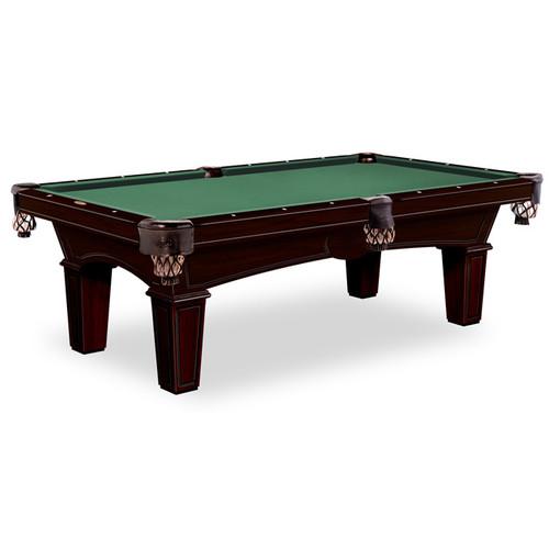 Gebhardts Columbia Pool Table Original Cherry Bridgeport Legs