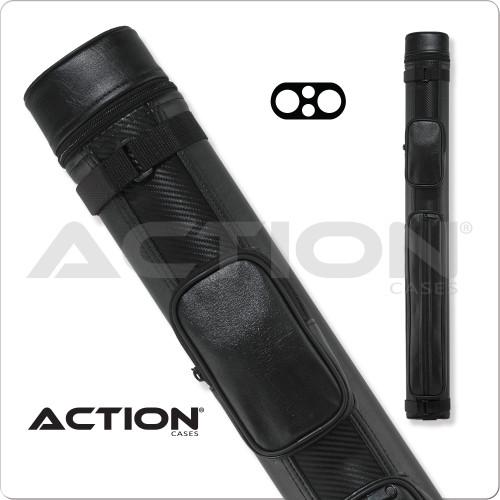 Action ACN22 2x2 Ballistic Nylon Hard Cue Case