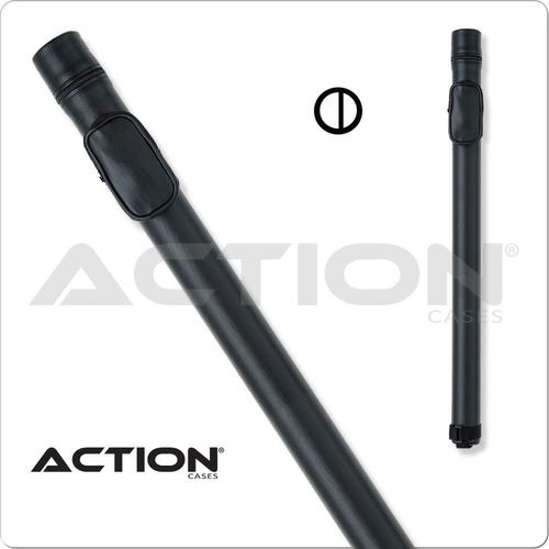 Action ACRND 1x2 Round Black Hard Cue Case