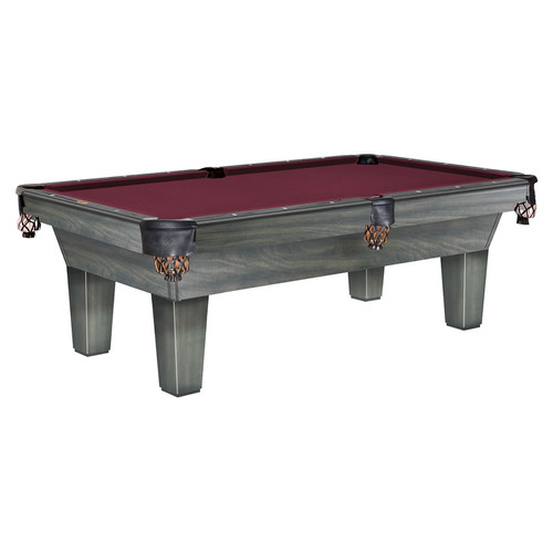 Gebhardts Aspen Pool Table Matte Fossil Grey