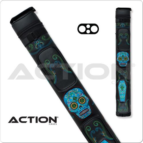 Action Calavera CALC22A 2x2 Stich Hard Cue Case