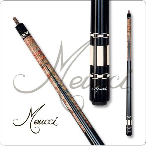 Meucci HOF01 Black Dot Pool Cue